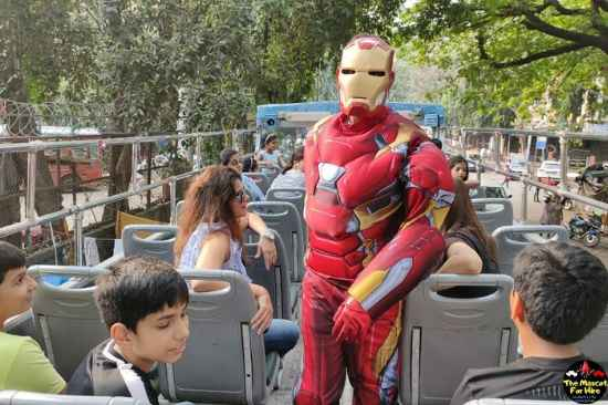 Iron Man Mascot Costume Hire
