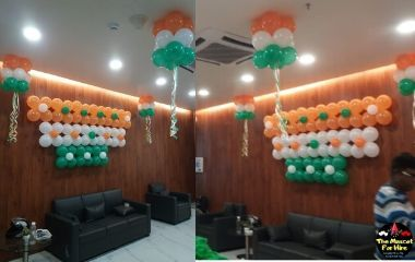 balloon decoration for independence day
