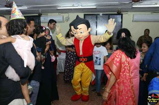 chota bheem mascot for rent